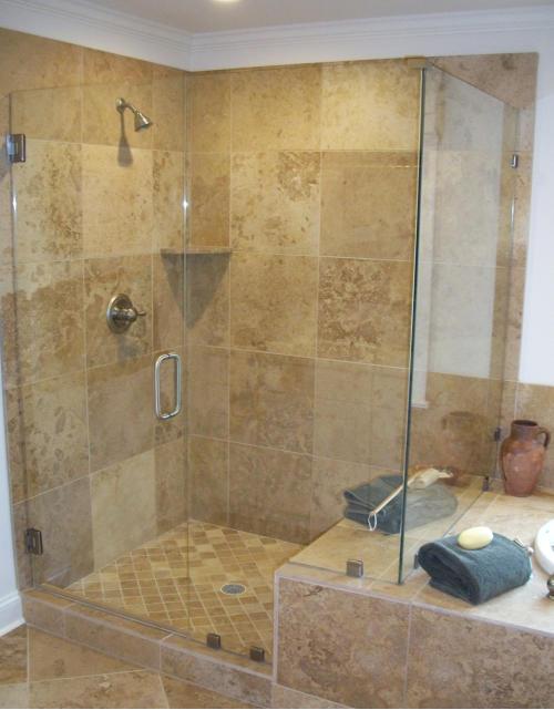 Shower Doors by Garsison Tile